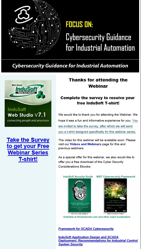 Focus on Cybersecurity Guidance for Industrial Automation