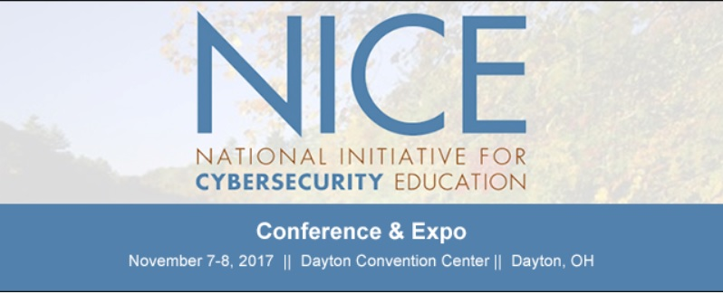 National Initiative for Cybersecurity Education Conference & Expo, 2017