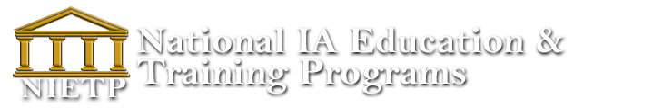 National IA Education & Training Programs