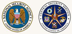 NSA and CSS logos