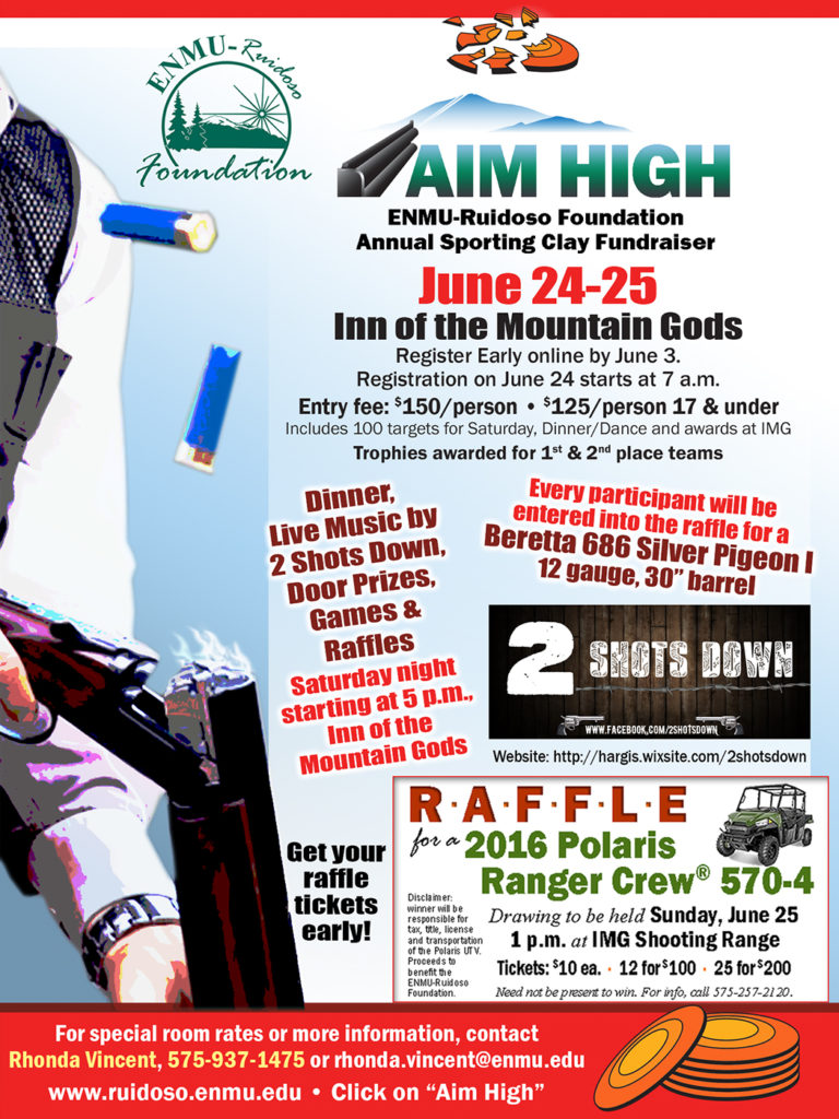 Aim High 2017 flyer