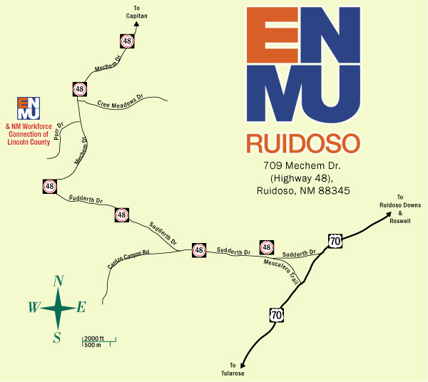 Campus Maps Enmu Ruidoso - Find-us-map