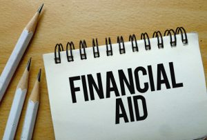 Financial Aid concept image