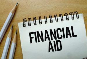 Financial Aid concept image