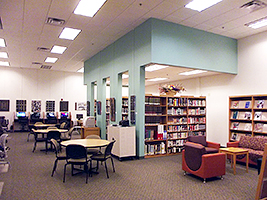 Small photo of library interior