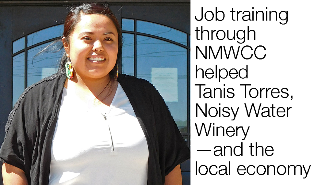 Job Training through NMWCC, Tanis Torres photo