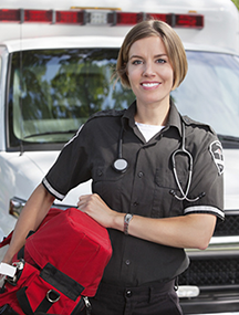 female EMT photo