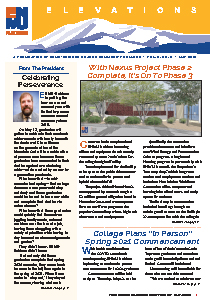 Elevations Newsletter cover
