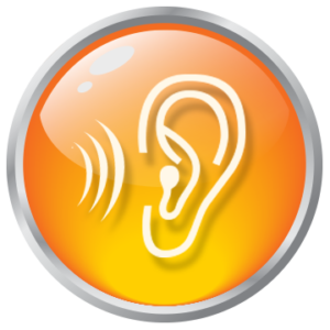 'Listen' button