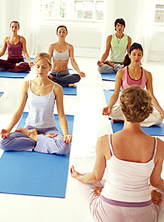 yoga class photo
