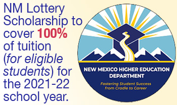 NM Lottery Scholarship Info graphic