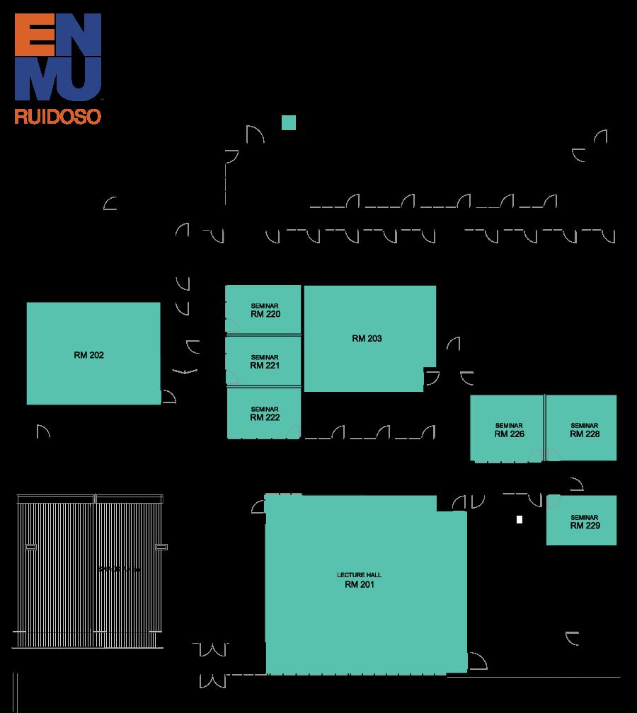 ENMU-Ruidoso Event Room map