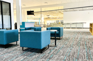 Learning Commons seating