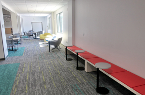 From South Study/Tutoring Area to North Commons