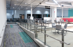 Ramp linking 100 wing to 200 wing; study area
