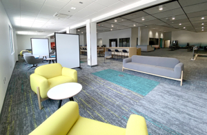 North Commons, through to Learning Commons area