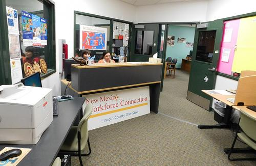 Workforce Connection office interior