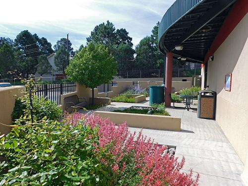 ENMU Garden - outdoor space